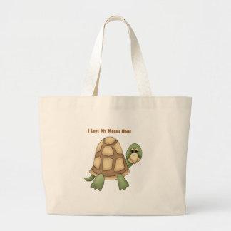 Amo mi tortuga de la caravana bolsas