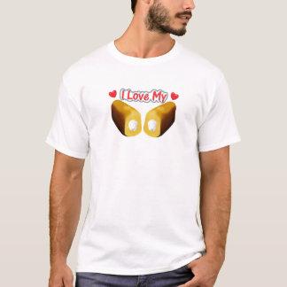 Amo mi Twinkies - camiseta blanca