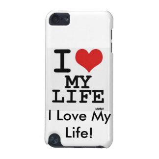 ¡Amo mi vida! Caso del tacto de IPod (5G) Funda Para iPod Touch 5