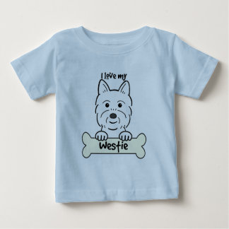 Amo mi Westie Camisas