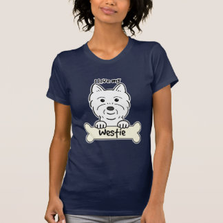 Amo mi Westie Camisetas