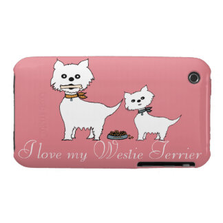 Amo mi Westie Terrier Funda Para iPhone 3 De Case-Mate