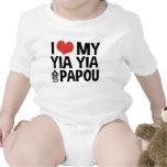 Amo mi Yia Yia y Papou Camisetas