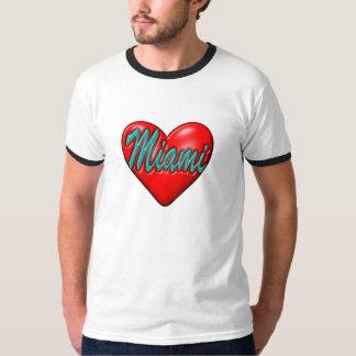 Amo Miami Camisetas