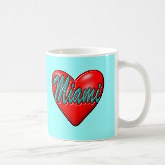 Amo Miami Taza Clásica