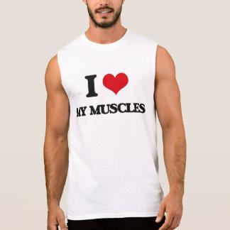 Amo mis músculos camiseta sin mangas