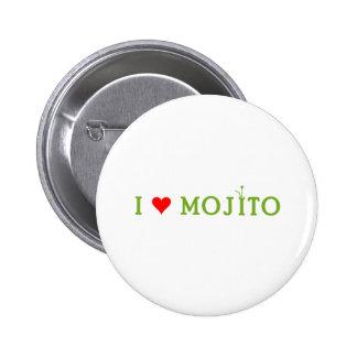 Amo Mojito Chapa Redonda 5 Cm