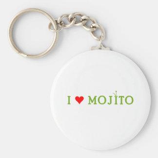 Amo Mojito Llavero Personalizado