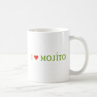 Amo Mojito Taza Básica Blanca