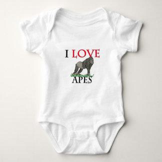 Amo monos body para bebé