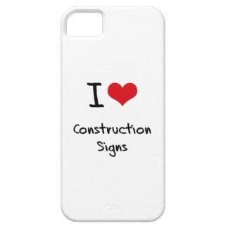 Amo muestras de la construcción iPhone 5 funda