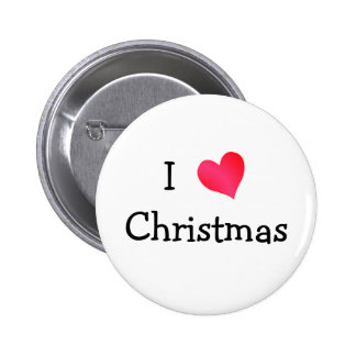 Amo navidad pin