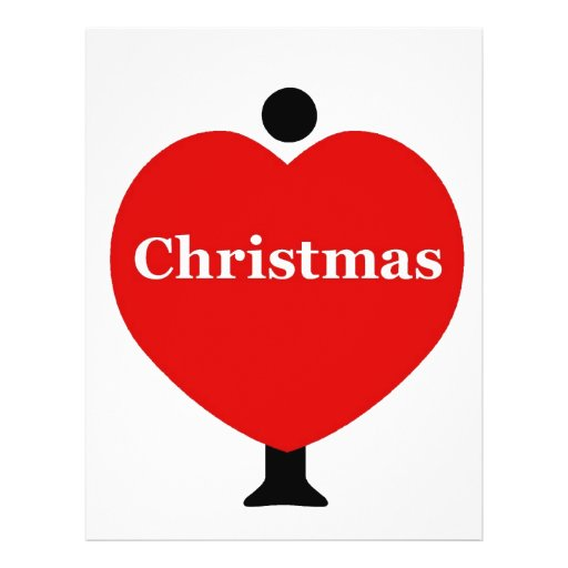 Amo navidad flyer a todo color
