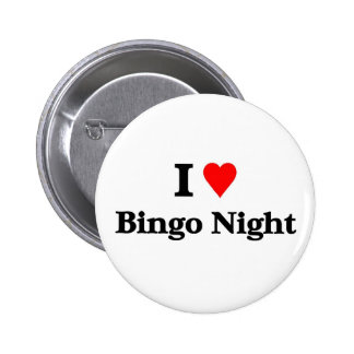 Amo noche del bingo chapa redonda 5 cm