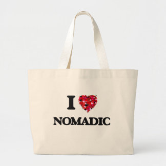 Amo nómada bolsa tela grande