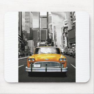 Amo NYC - taxi de Nueva York Alfombrilla De Ratón