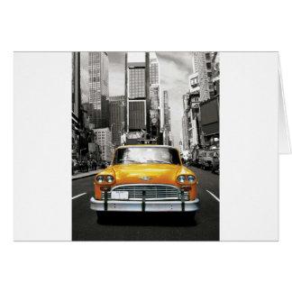 Amo NYC - taxi de Nueva York Tarjeta De Felicitación