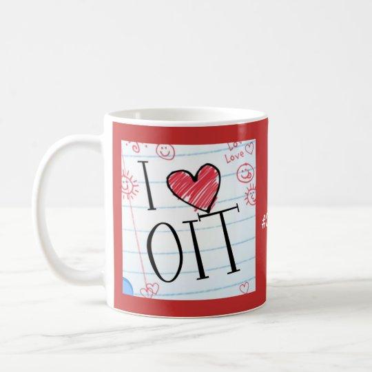 Amo OIT: 2 diversos lados Taza De Café