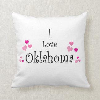 Amo Oklahoma Cojín Decorativo