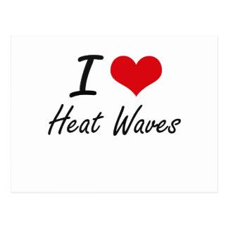 Amo olas de calor postal