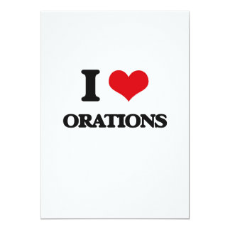 Amo oraciones invitación 12,7 x 17,8 cm