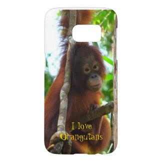 Amo orangutanes funda samsung galaxy s7
