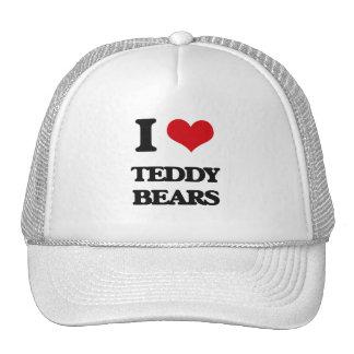 Amo osos de peluche gorros