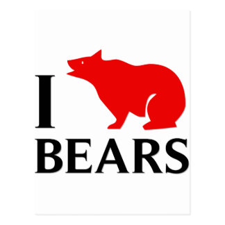Amo osos postal