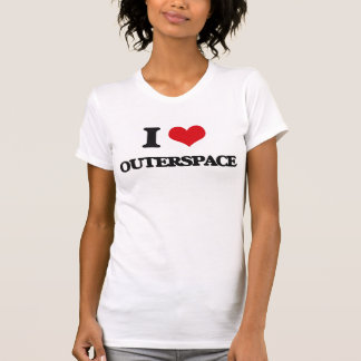 Amo Outerspace Camisetas