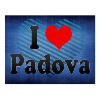 Amo Padua, Italia Tarjetas Postales