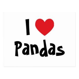 Amo pandas postal
