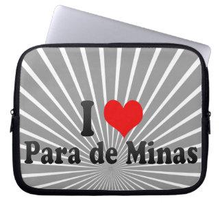 Amo Para de Minas, el Brasil Funda Para Portátil