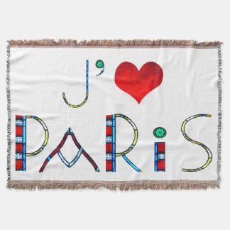 Amo París en el vitral de Notre Dame Manta