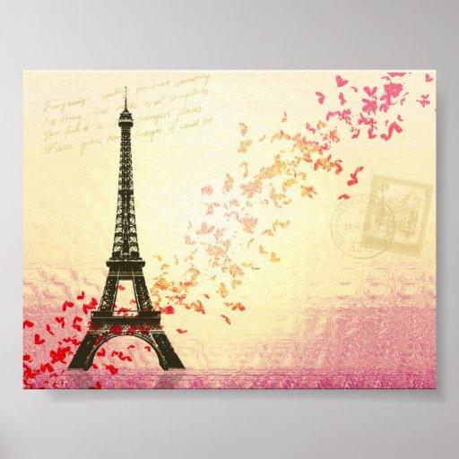 Amo París en primavera Impresiones