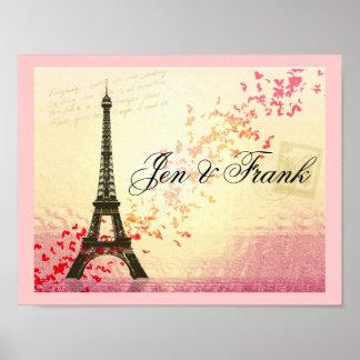 Amo París en primavera Poster