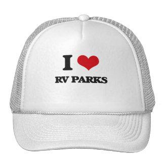 Amo parques de rv gorros