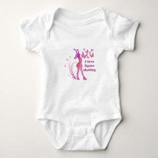 Amo patinaje artístico body para bebé