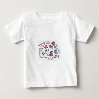 Amo patinaje artístico camiseta de bebé