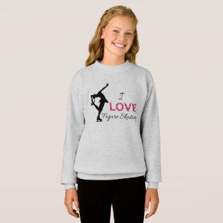 AMO patinaje artístico, camiseta de los chicas