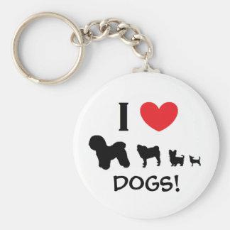 """""""Amo perros!"""" Llavero"""