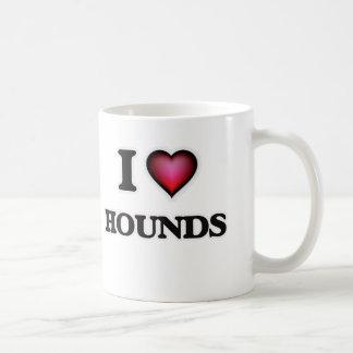 Amo perros taza de café