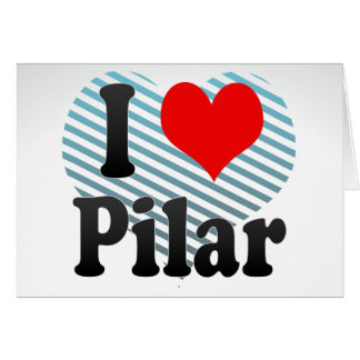 Amo Pilar, el Brasil Felicitaciones