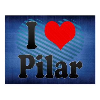 Amo Pilar, el Brasil Postales