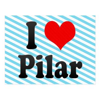 Amo Pilar, el Brasil Tarjetas Postales