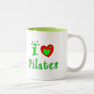 Amo Pilates - tazas de café de encargo