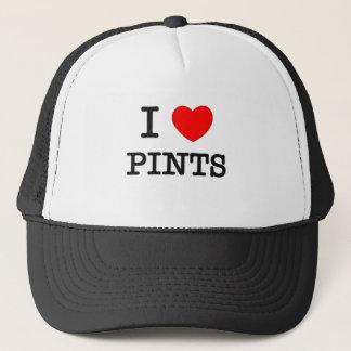 Amo pintas gorra de camionero