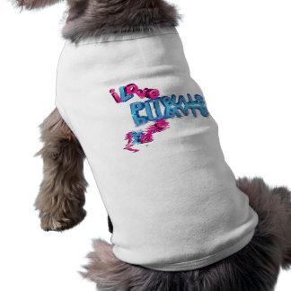 Amo Pitbulls en 3D Camiseta Sin Mangas Para Perro