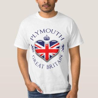 Amo Plymouth Camiseta