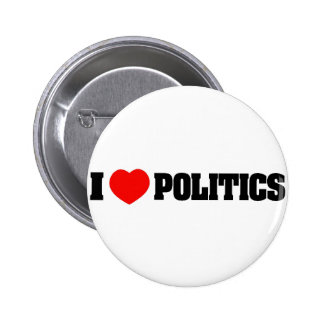 Amo política pin