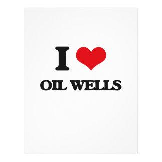 Amo pozos de petróleo flyer a todo color
